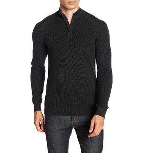 London Stach Quarter Zip Sweater